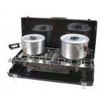 Kampa Alfresco Double Burner & Grill