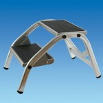 Pennine Aluminium Double Step (PO978)
