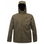 Regatta Slideland Men's Waterproof Jacket - Dark Khaki