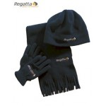 Regatta Brooklyn Hat, Glove, Scarf Set for Boys - Navy