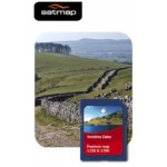 Satmap Yorkshire Dales 1:25k & 1:50k Map Card