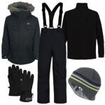Trespass Brady Parka Boy's Ski Wear Package