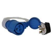 Blue Diamond 230V UK Mains Hook-Up Lead