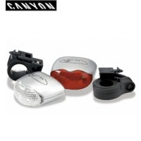 Canyon Double LED Cycle Light Set (1412)