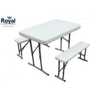 Royal White Trestle Picnic Set (355419)