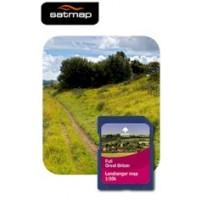 Satmap Great Britain 4: Full 1:50k Map Card