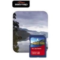 Satmap National Parks Premium - Lake District 1:25k & 1:50k Map Card