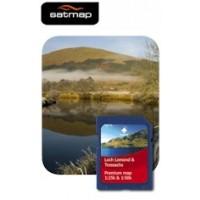 Satmap Loch Lomond & Trossachs 1:25k & 1:50k Map Card