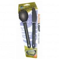 Sea to Summit Alpha Light Cutlery –2pc Knife & Spork Set