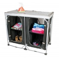 Kampa Leigh Compact Cupboard Double