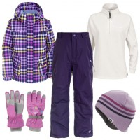 Trespass Dipity Girl's Ski Wear Package