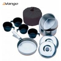 Vango Stainless Steel Cook Set - 4 Person