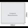Outdoor Revolution Compactalite Pro Integra 250 Lightweight Awning