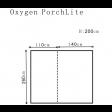 Outdoor Revolution Oxygen Porchlite Porch Awning