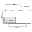 Outdoor Revolution Oxygen Movelite 3 Motorhome Awning