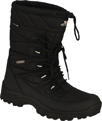 Mens Black Snow Boots - Cr Boot