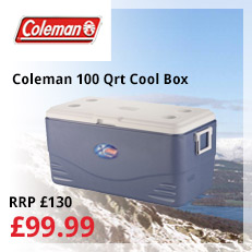 coleman 100 qt marine cool box