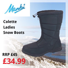 colette ladies snow boots