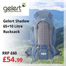 Gelert Shadow 65 Rucksack