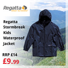 Regatta Stormbreak Kids Waterproof Jacket