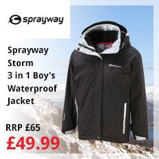 Sprayway Storm Boy's 3in1 Jacket