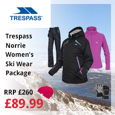 Trespass Norrie Women's Skiwear Package