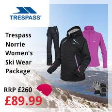 Trespass Norrie Women's Skiwear Package
