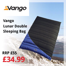 vango lunar double sleeping bag