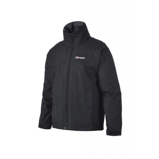 Berghaus RG Alpha Men's Waterproof Jacket - Black
