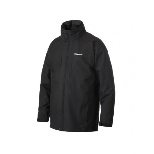 Berghaus RG Gamma Men's Long Waterproof Jacket - Black