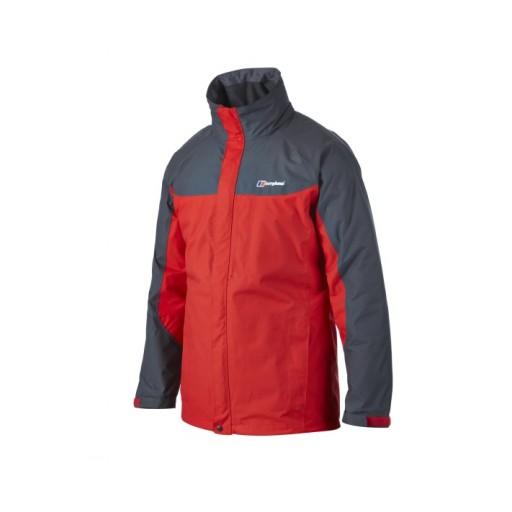Berghaus RG Gamma Men's Long Waterproof Jacket - Red