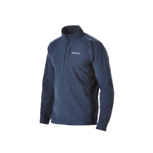 Berghaus Spectrum Men's Half Zip Microfleece - Indigo