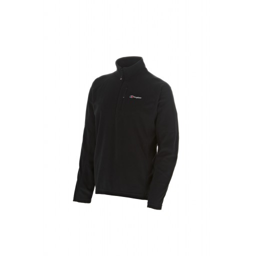 Berghaus Spectrum Men's Half Zip Microfleece - Black