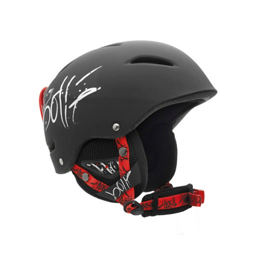Bollé B-Style Adult Ski Helmet - Black Grafiti
