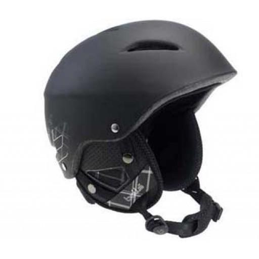 Bollé B-Style Adult Ski Helmet - Black/Plaid