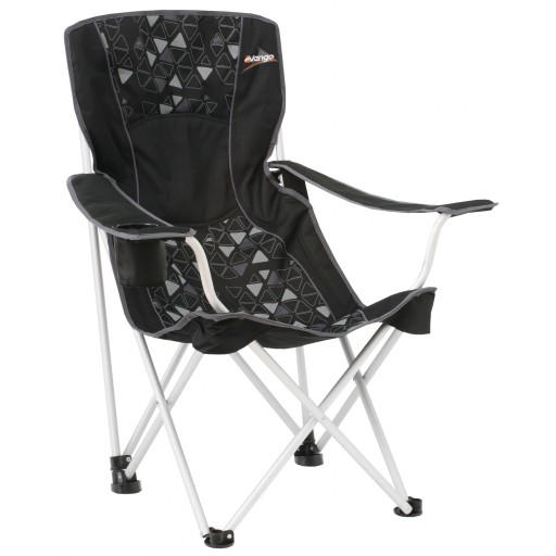 Vango Brodick Hi-Back Arm Chair - Black