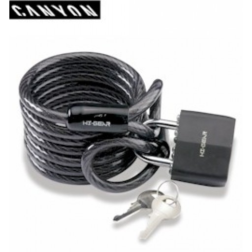 Canyon Cable and Padlock (L239)