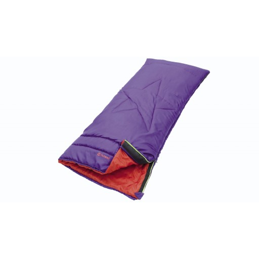 Outwell Coastal Junior Sleeping Bag - Purple