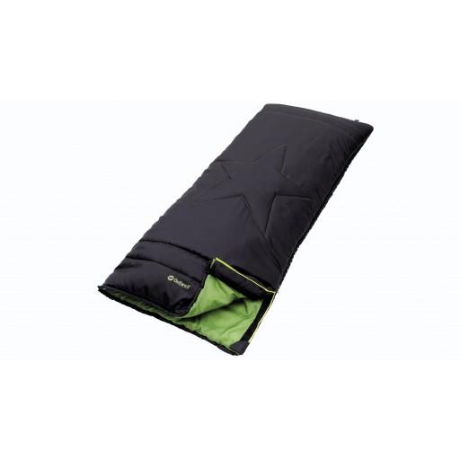 Outwell Coastal Junior Sleeping Bag - Black