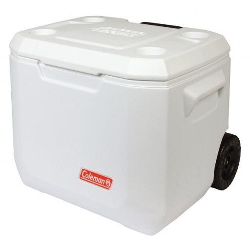 Coleman 50 QT Marine Wheeled Cool Box