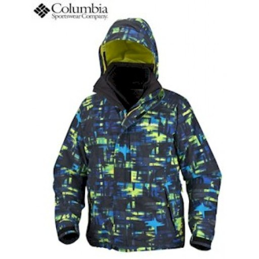Columbia Mahagony Ridge Men's Snow Jacket (EM4501)