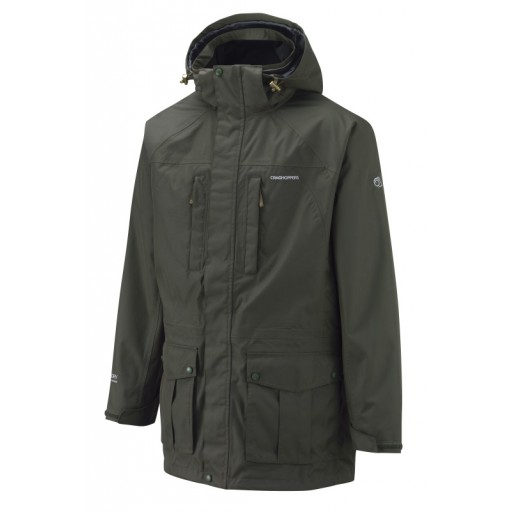 Craghoppers Kiwi Long Length Men's Waterproof Jacket