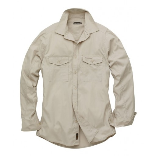 Craghoppers Men's Long Sleeve Kiwi Shirt