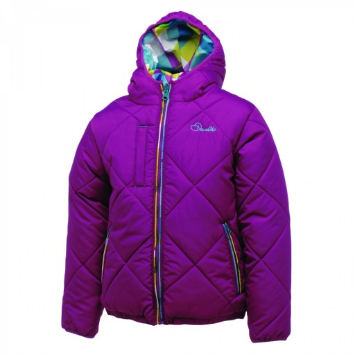 Dare2b Flippancy Girls' Reversible Ski Jacket