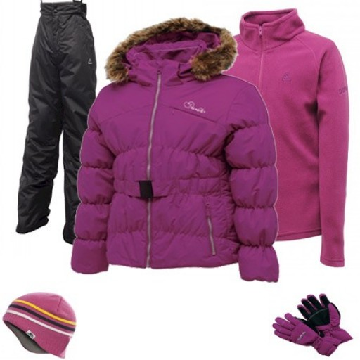 Dare2b Wondrous Girl's Ski Wear Package