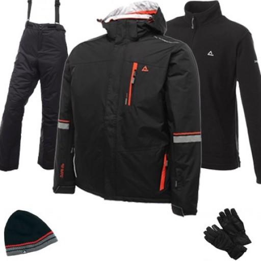 Dare2b Inspiration Men's Ski Wear Package - Black