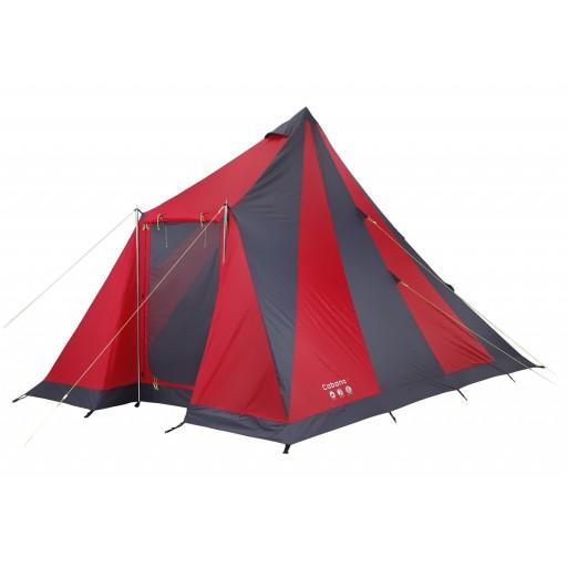 Gelert Cabana 4 Festival Tent - Mars Red