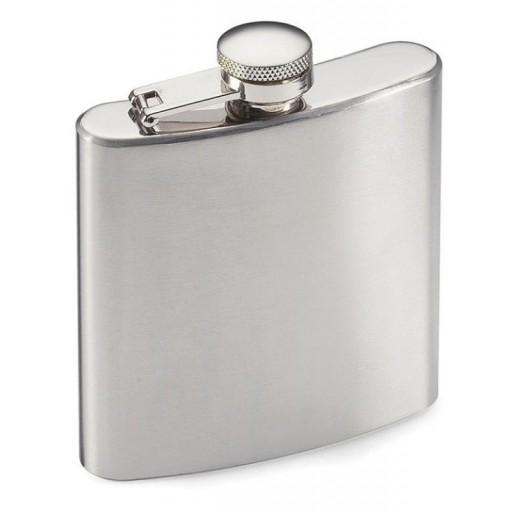 Highlander 170ml Stainless Steel Hip Flask
