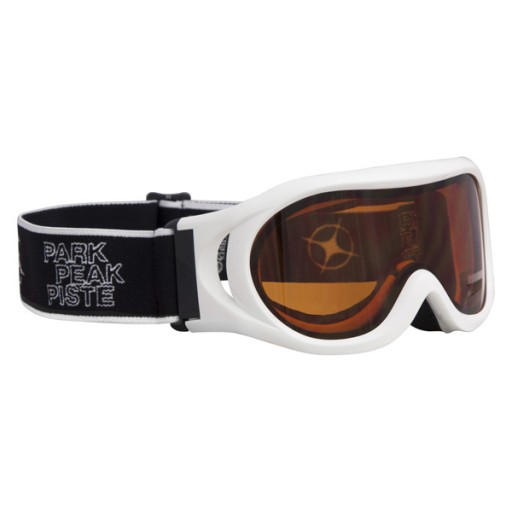Manbi Whizz Junior Ski Goggles - White