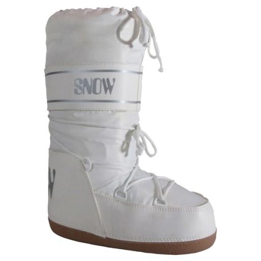 Igloo Girl's Moon Boots - White